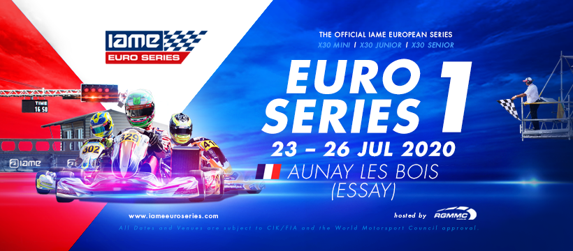 Green light for the start of the IAME X30 Euro Series with large entries