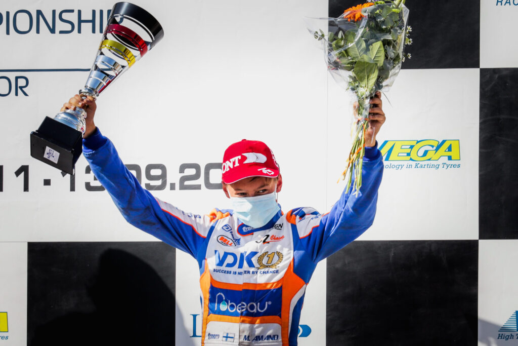 VDK Racing: Podium for Amand in the European Finale!