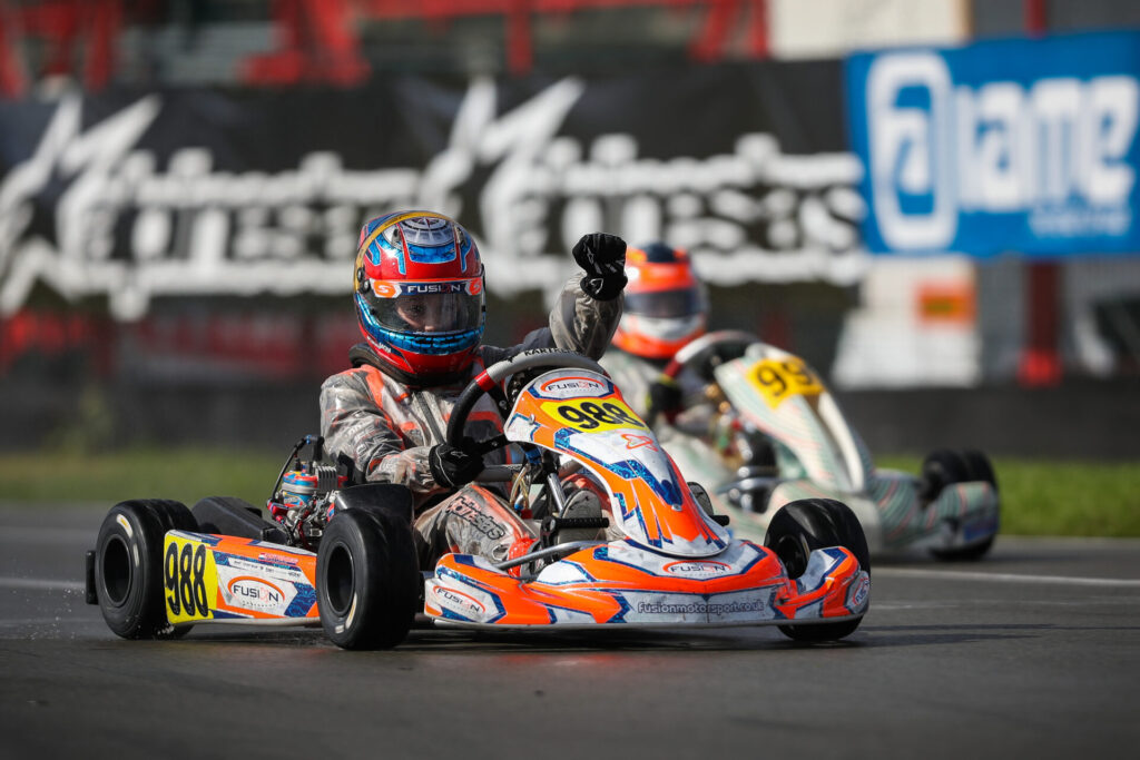 IAME Euro Series: Mariembourg's weather-mixed final brings out new race victors and worthy title winners!