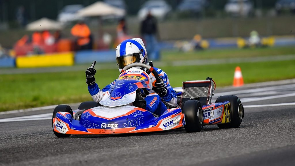 VDK Racing: Marcus Amand denied OK-Junior win at Castelletto