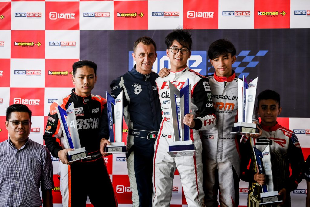 Dick Yu, Hong Kong's headline driver for the 2020 IAME International Final