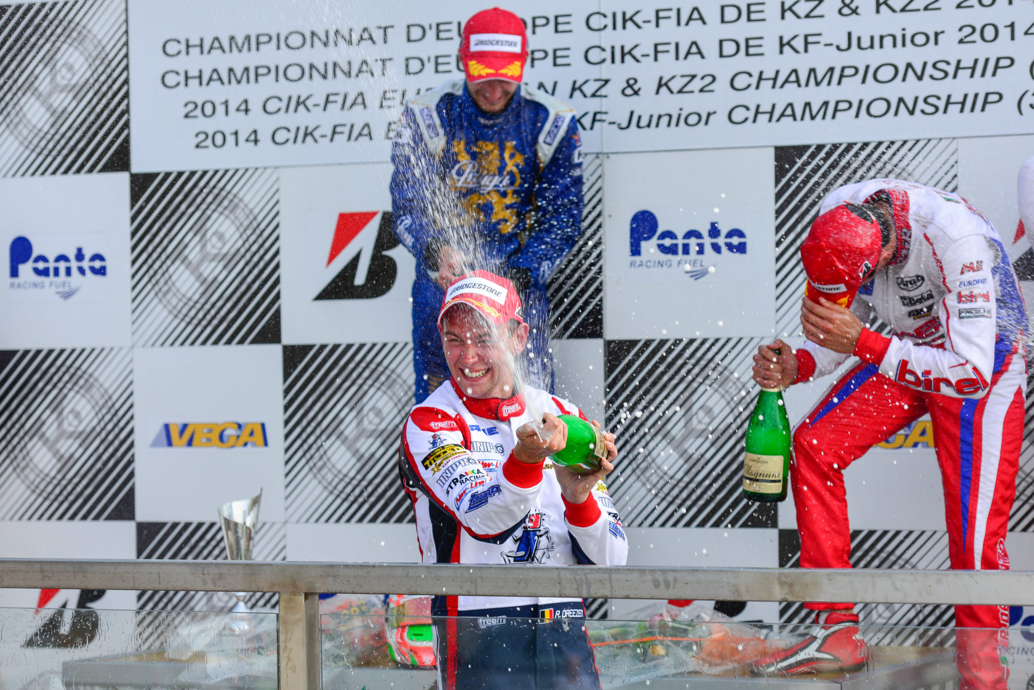 Rick Dreezen chasing first World Championship with Kart Republic