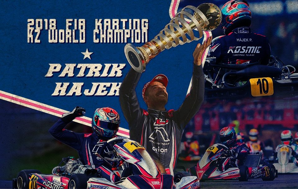 "Patrik Hájek (Kosmic): ""I still need time to realize"""