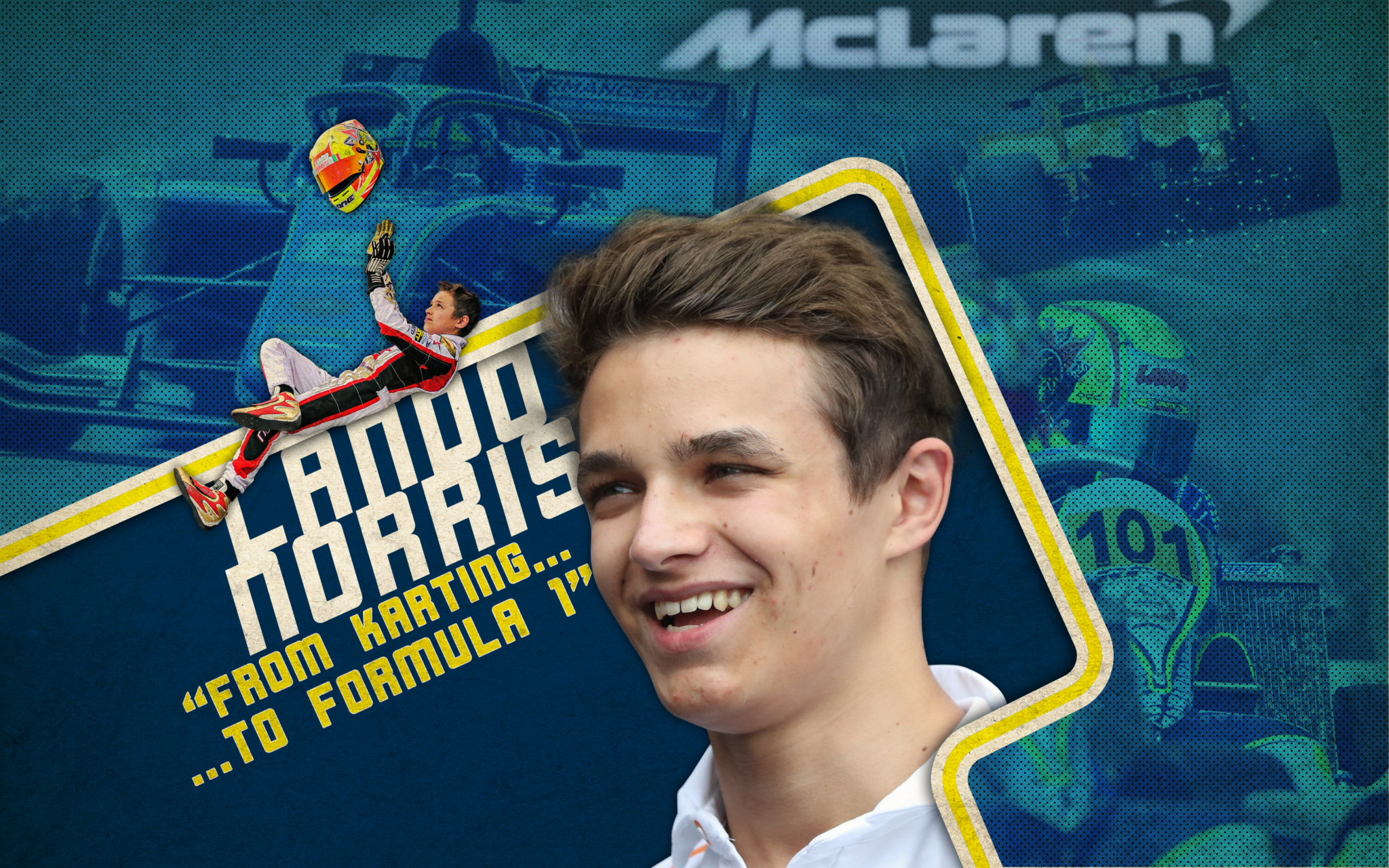 """Lando Norris: """"It took me time to maximize my potential"""""""