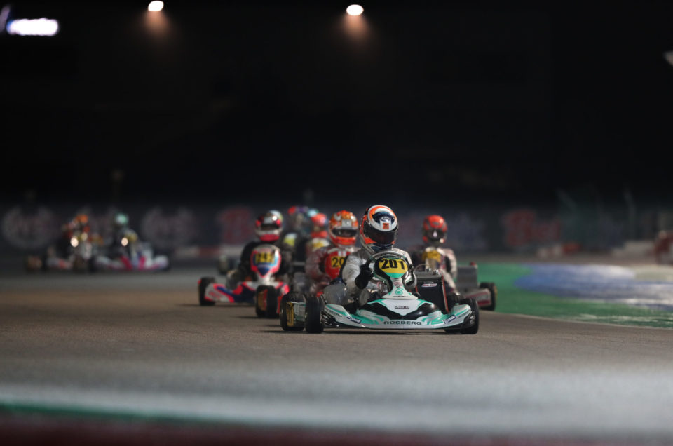 WSK Final Cup - Round 3: Saturday Qualifying Heats