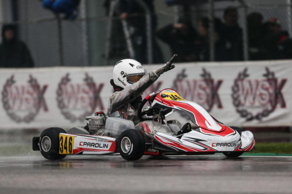 WSK Final Cup: Parolin shines in Adria storm