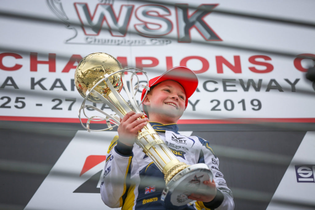 Barnard, Dunne & Filaferro win the 2019 WSK Champions Cup!