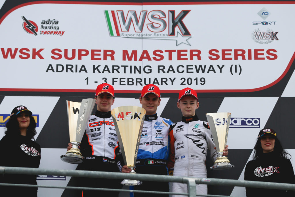 WSK Super Master Series Rnd 1 – Sunday: Travisanutto, Câmara & Al Dhaheri masters of Adria!