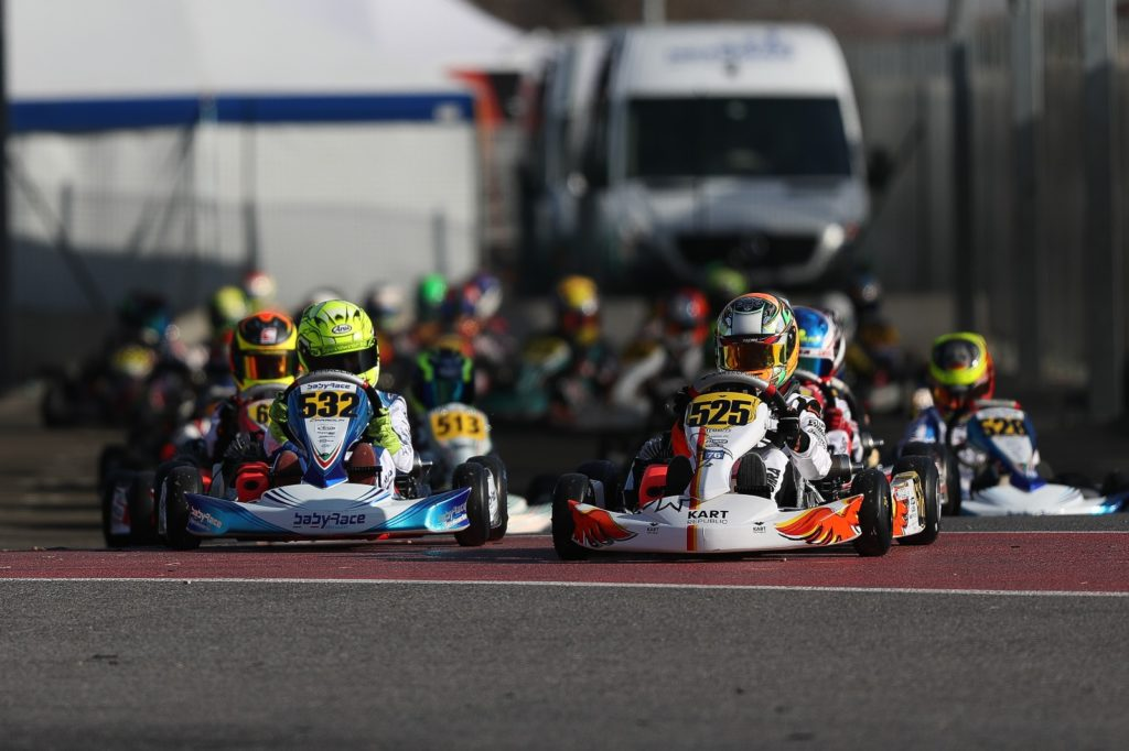 WSK Super Master Series Rnd 2 – Saturday: Bedrin & Lammers provisional leaders, strong run for Eyckmans & Mini'