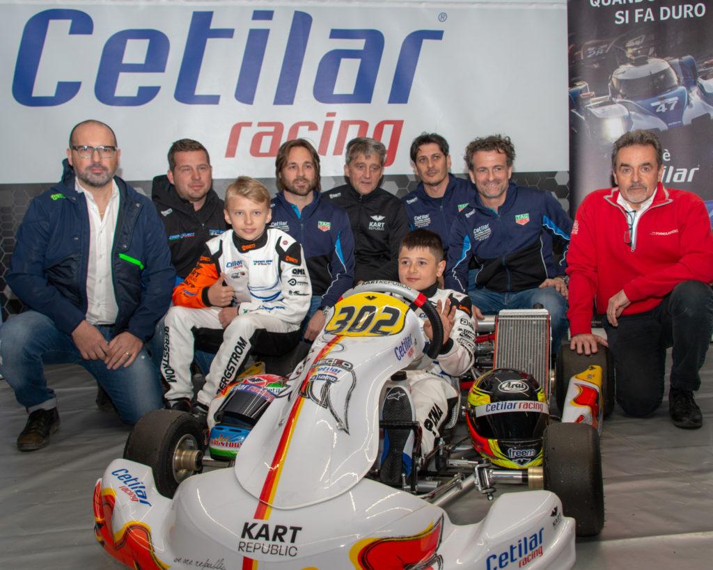 Cetilar Performance Karting unveiled in Sarno