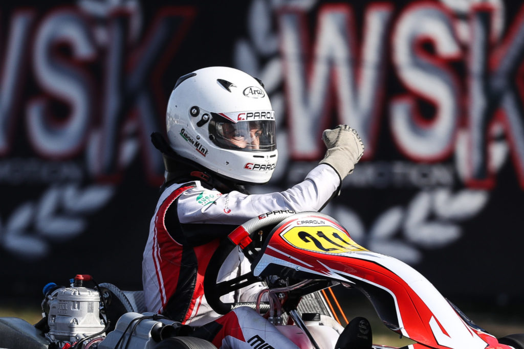 WSK Super Master Series Rnd 3 – Sunday: Mini', Antonelli and Powell shine at La Conca!
