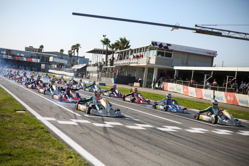 WSK Super Master Series Rnd 4 – Friday: class contenders take Sarno's pulse