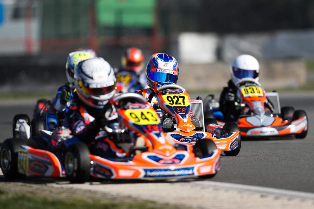 IAME X30 Euro Series Rnd 1 – Friday: Slater, Edqvist, Kadapik & Lüdi on Pole position in Mariembourg