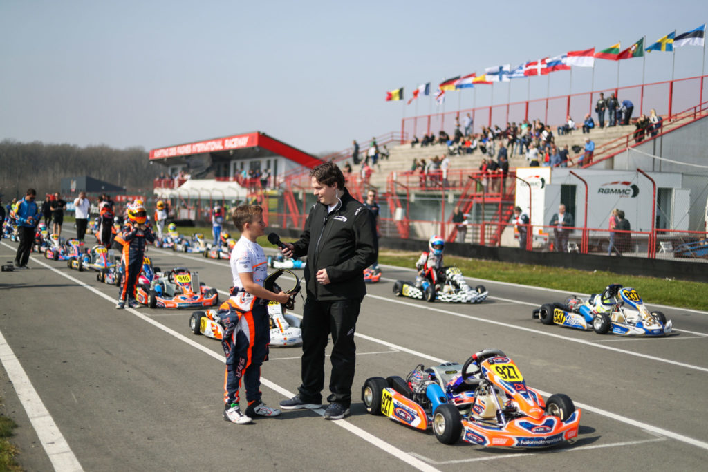 A couple of weeks after the IAME Winter Cup in Valencia that featured a record-breaking number of entries, the first race of the IAME X30 Euro Series welcomed this weekend in Mariembourg, in Belgium, more than 170 drivers representing 20 countries, an increasing entry list compared to 2018 that highlights the growing success of the competition over the years. Through 33 races run in beautiful conditions all weekend on the 1366 meters of the Karting des Fagnes International Raceway, the Finals on Sunday delivered their verdict with the first wins of the season going to Freddie Slater in Mini, Jason Leung in Junior, Callum Bradshaw in Senior and Philip Seewer in Shifter.