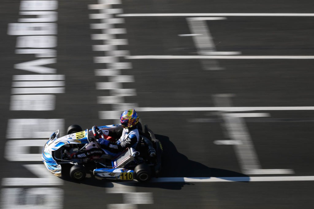 CV Performance Group assert themselves at the FIA Karting European kick-off