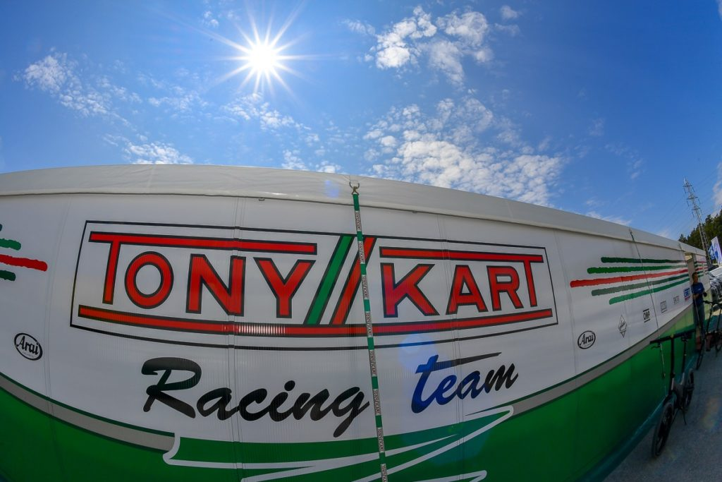 Tony Kart: European podium in OK Junior at Genk