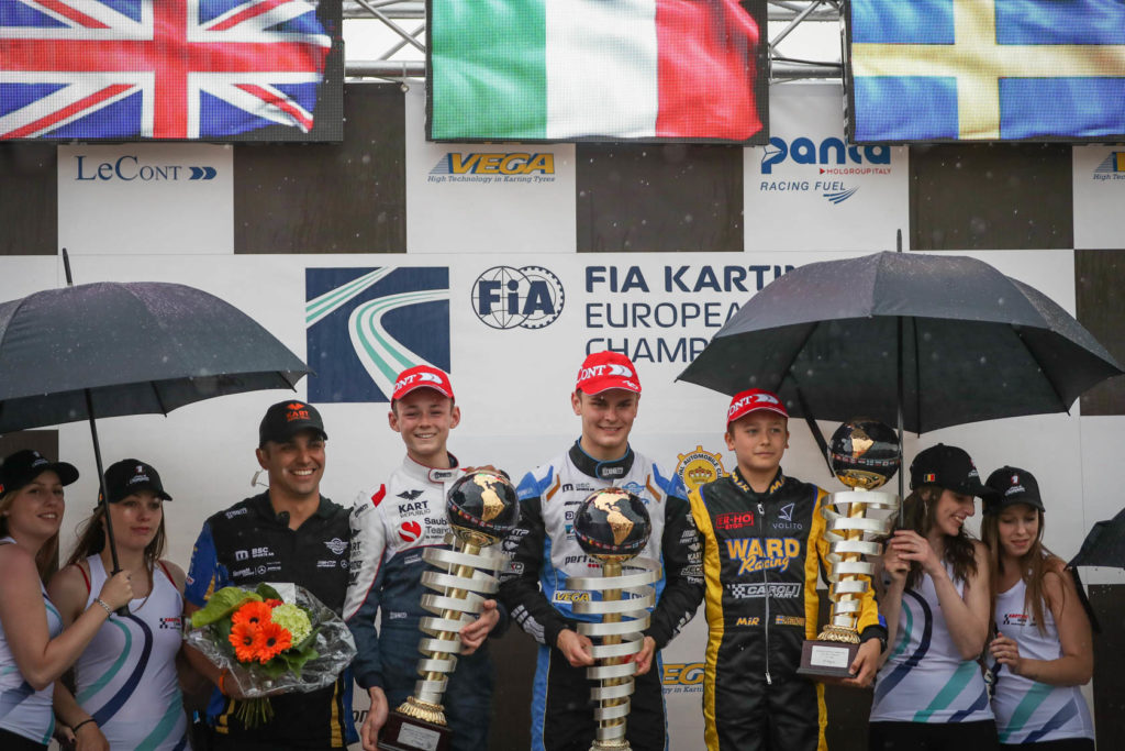 CV Performance Group celebrates 1st FIA Karting European victory