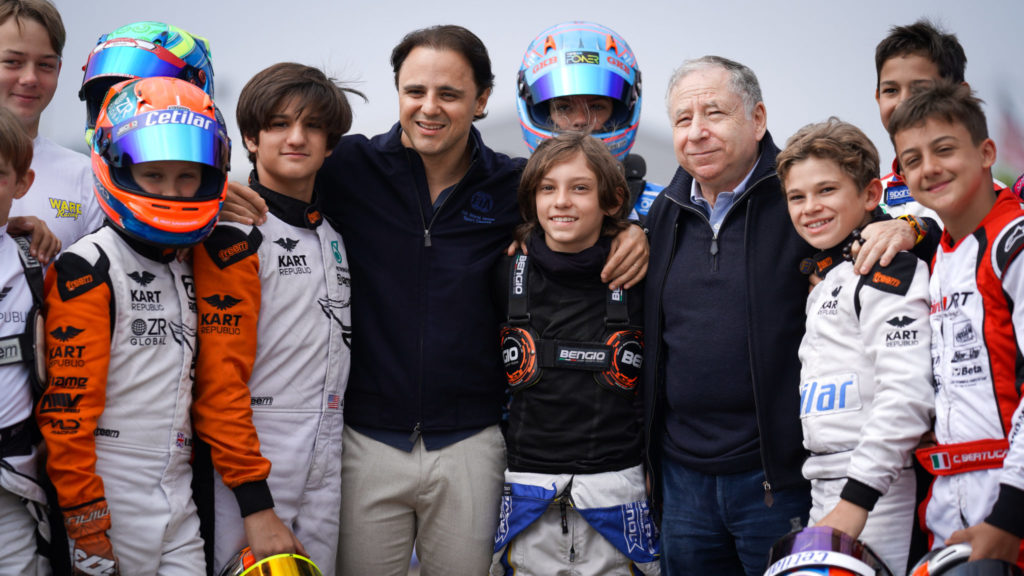 "Interview Jean Todt: ""Karting must remain affordable"""