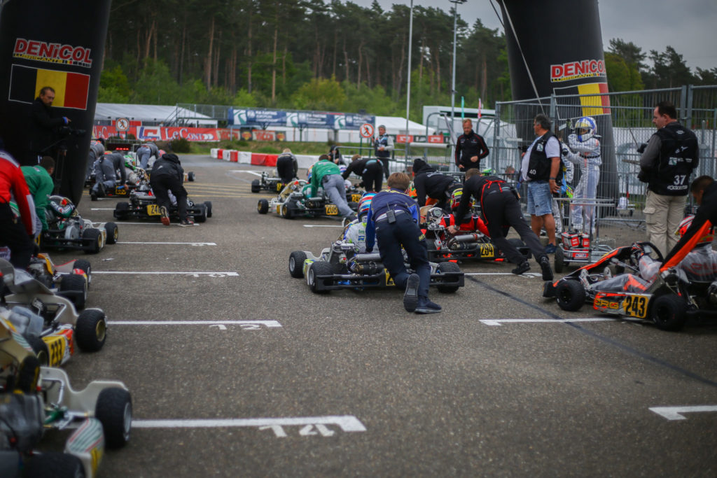 FIA Karting – Friday: Coluccio and Laursen take Pole in changing conditions