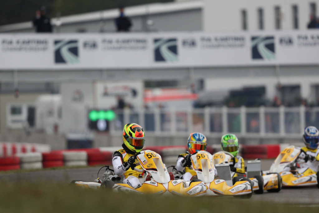 Loïs Delbart: A positive start to the FIA Karting Academy Trophy at Wackersdorf