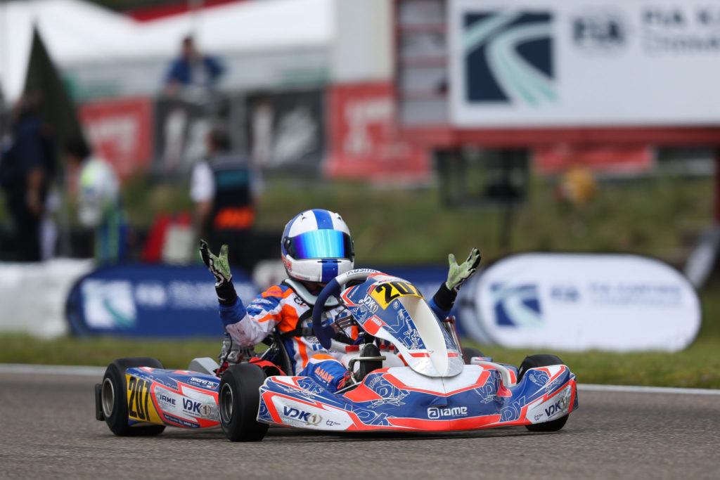 VDK Racing: Marcus Amand takes his first European win at the team's home race
