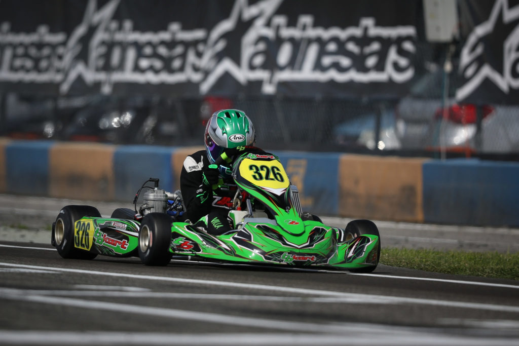 IAME Euro – Friday: Macintyre, Taylor and Villa take Pole position at Castelletto