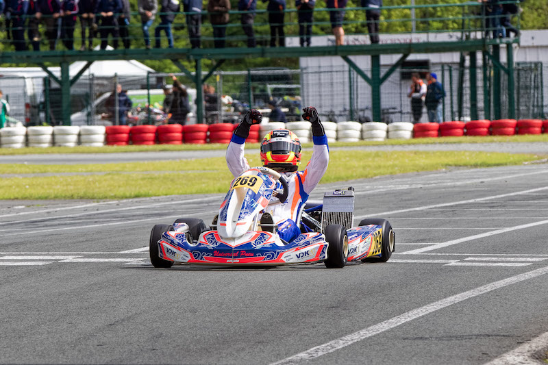 Hot Finals in Ostricourt for the IAME Series Benelux!