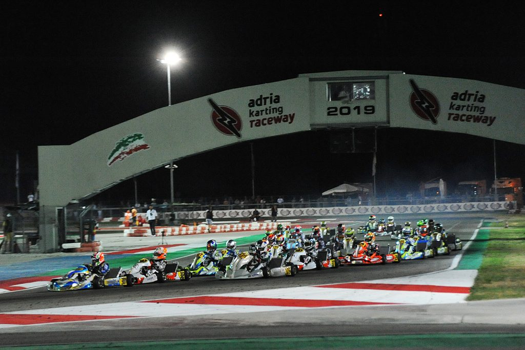 WSK Euro – Saturday: Matveev, Al Dhaheri, Antonelli, Mini' & Travisanutto conclude on a high in Adria