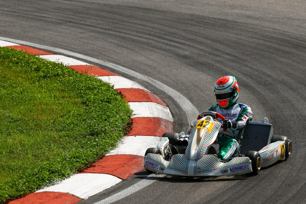 Tony Kart: Victory at the European Championship in Sarno