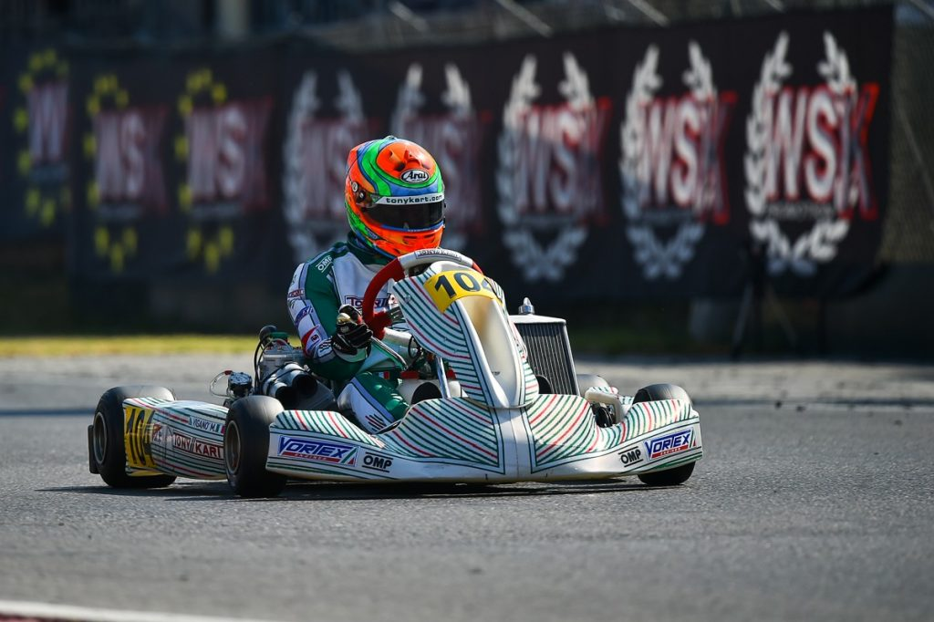 Tony Kart: Victory & WSK Euro Series KZ2 title for Ardigo