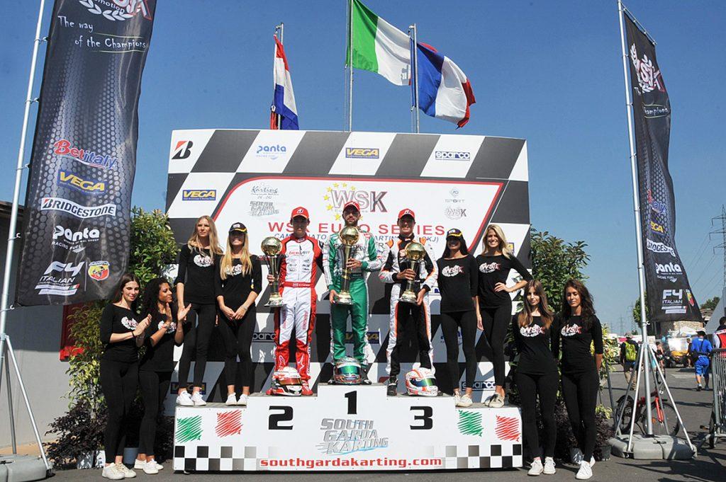 WSK Euro – Sunday: Ardigo, Patterson, Lindblad and Dedecker winners at South Garda
