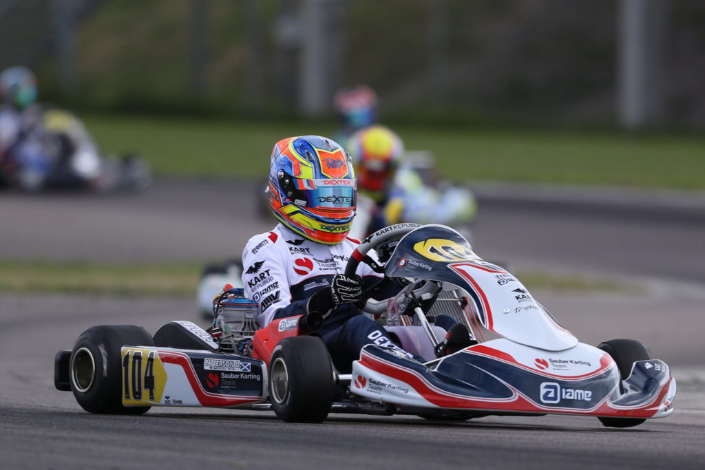 FIA Karting – OK: Patterson keeps the lead, Travisanutto on his tail