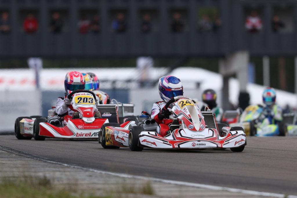 FIA Karting – Junior: Taponen on Pole