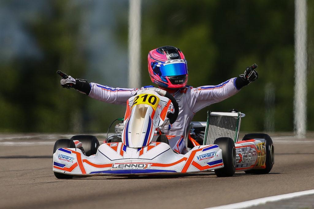 FIA Karting – Junior: Day wins at Kristianstad
