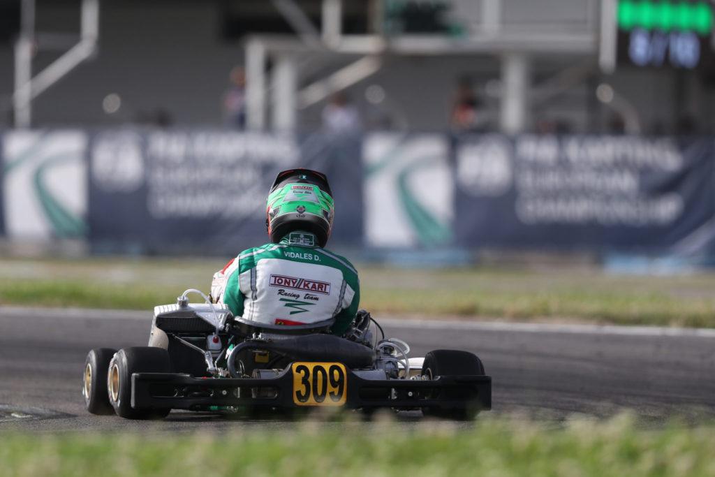 FIA Karting – KZ2: Vidales on Pole