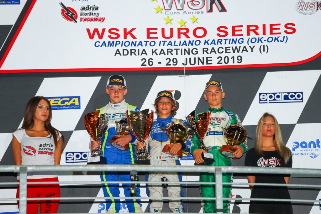Tony Kart: Double podium OK/OKJ at the WSK Euro Series