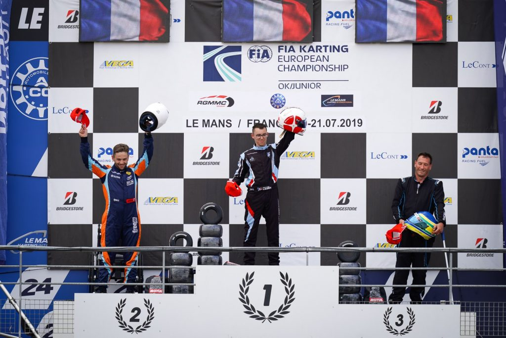Handikart FFSA: Léger claims his second title despite stronger competition