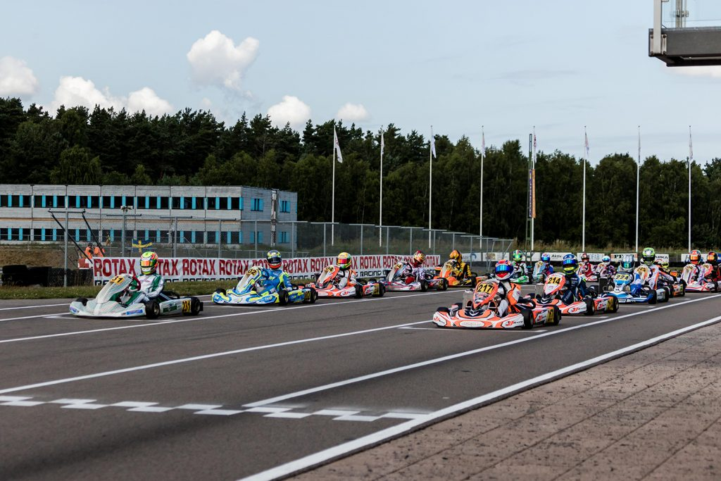 Thrilling halftime event at the Rotax MAX Challenge Euro Trophy in Sweden