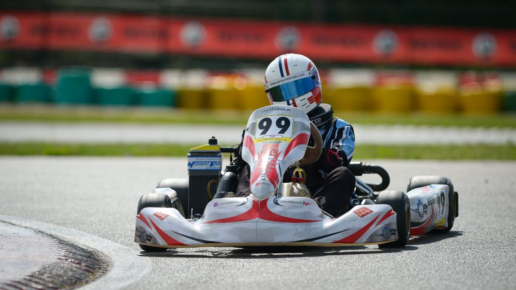 An international scene for the Handikart French Championship