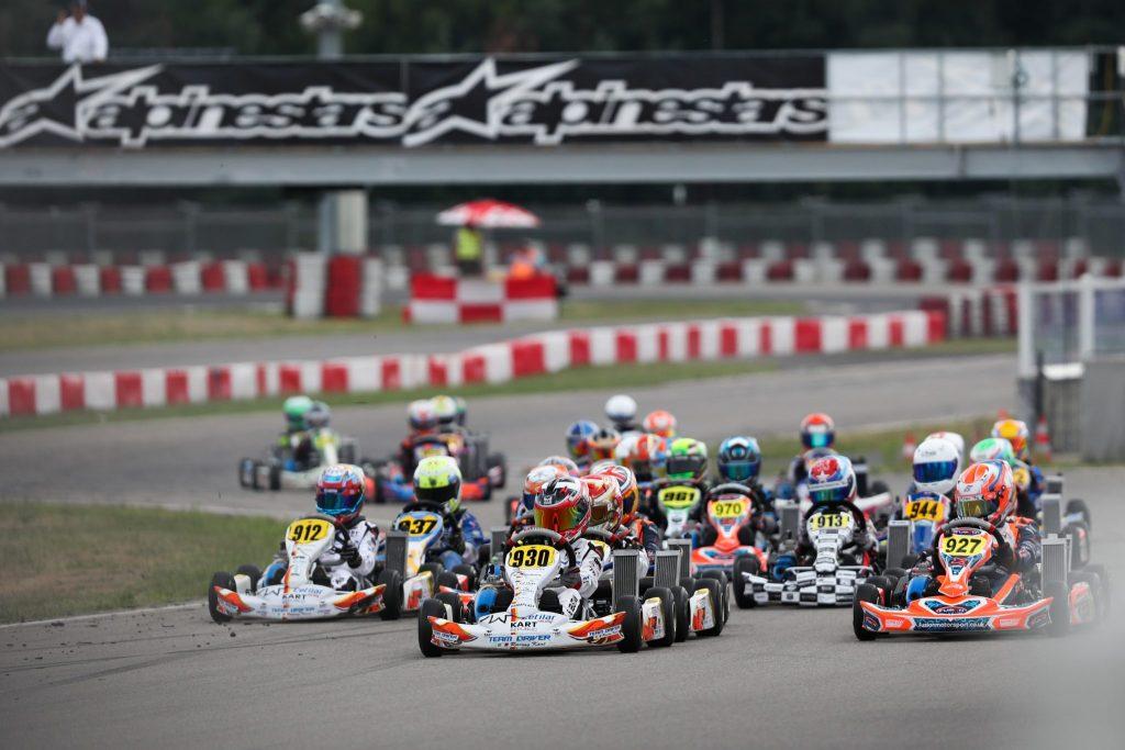 IAME Euro – Mini – Saturday: Sebastian NG keeps the lead
