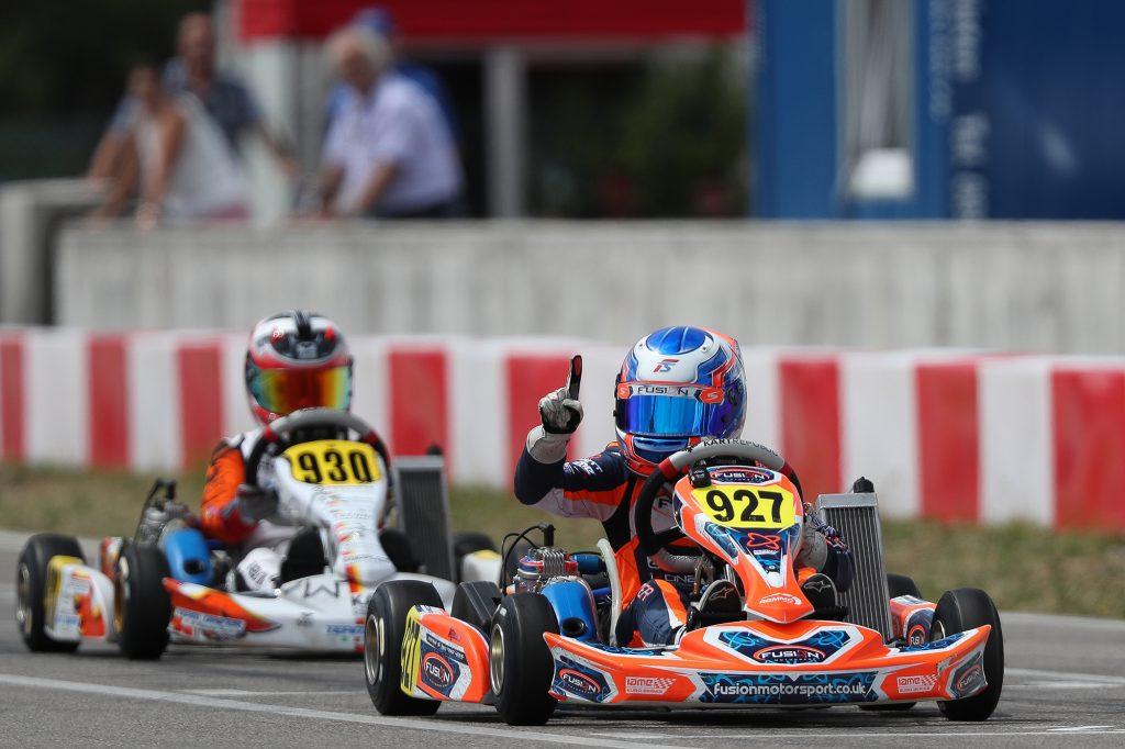 IAME Euro – Mini – Sunday: Slater wins against NG!