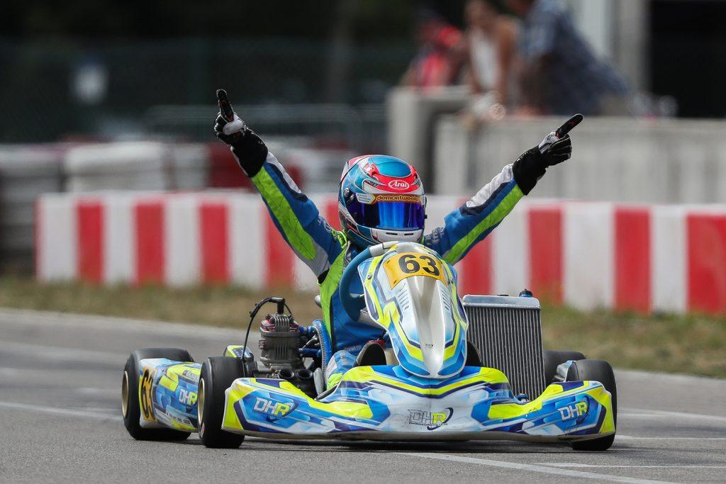 IAME Euro – Junior – Sunday: Gray victorious at Wackersdorf