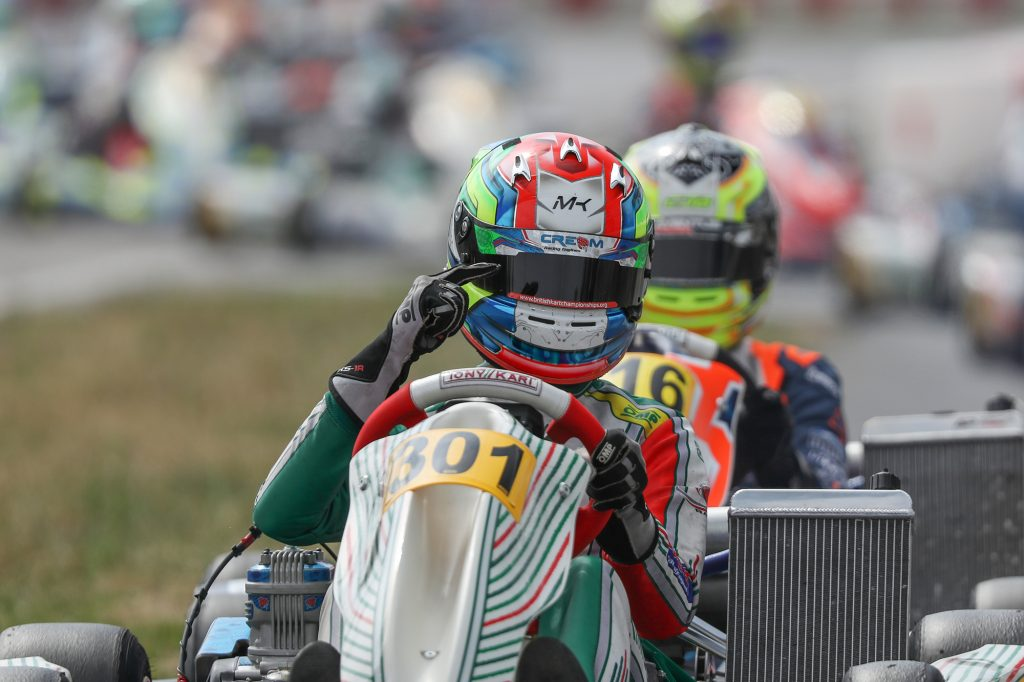 IAME Euro – Senior – Sunday: Kimber leads a Strawberry Racing hat-trick