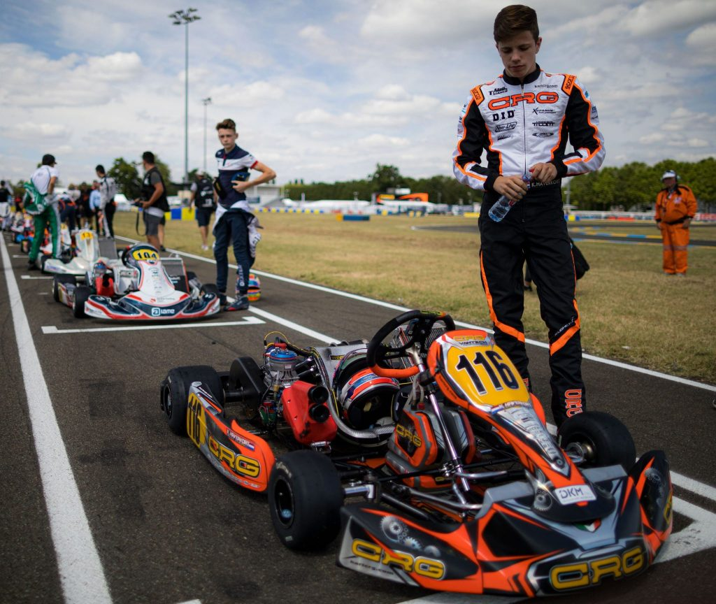 CRG: Positive balance for the last round of the FIA Karting Europeans