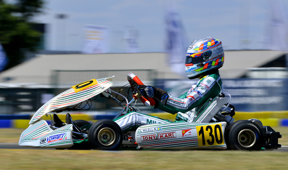Tony Kart: Great enthusiasm and confidence for the Worlds in Finland