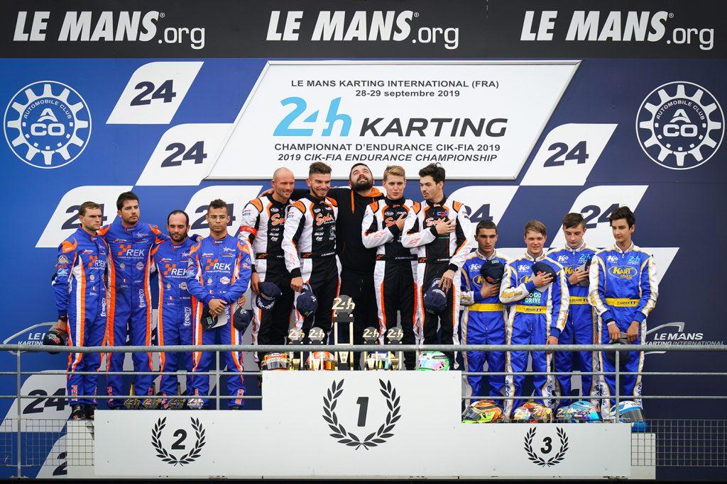 24 Hours Karting of Le Mans: Sodikart wins its 2nd FIA Karting Endurance Championship