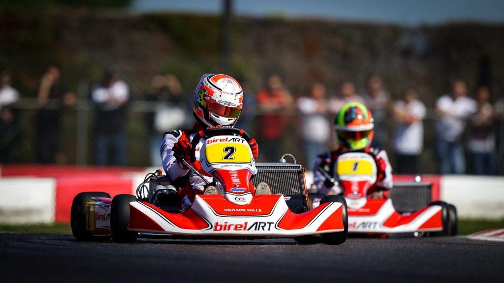 FIA Karting World Championship: Siksnelis, Denner & Kremers early leaders at South Garda
