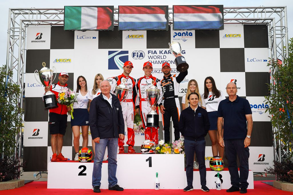 FIA Karting World Championship: Kremers crowned in KZ, Denner imperial in KZ2, Ho's strong take on Academy
