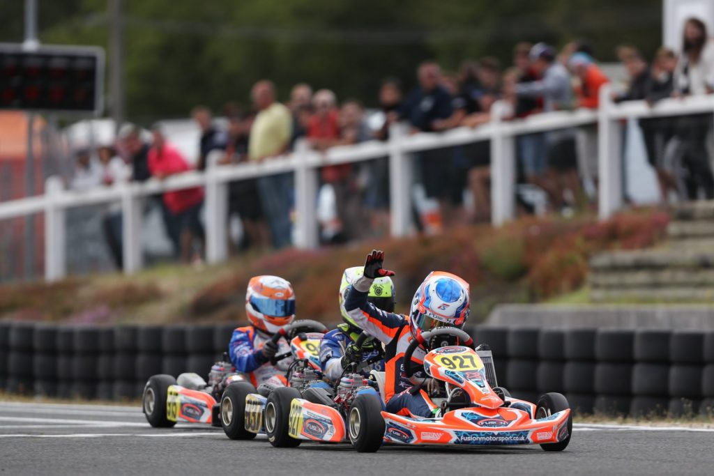 IAME Euro – Mini – Sunday: Slater fends off Fluxa to take the crown