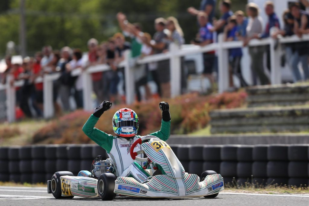 IAME Euro – Senior – Sunday: Kimber claims both victory and title!